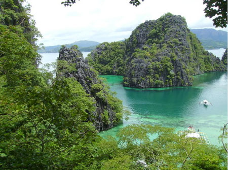 The beautiful Coron