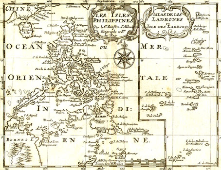 Old Map of the Philippines
