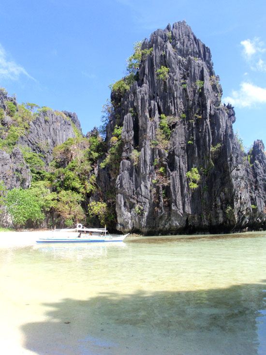 Secret Beach El Nido Palawan